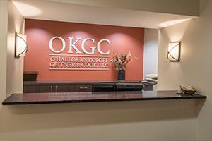 The OKGC front desk
